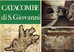 Siracusa - Catacombe Di S.giovanni - Formato Grande Non Viaggiata – E 7 - Siracusa