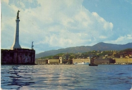 Messina - La Maddonina Del Porto - Formato Grande Viaggiata – E 7 - Messina