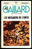 """"""" Jo GAILLARD: Les Messagers De L'Enfer """", Par Jean-Paul VIVIER -  E.O. PM N° 62. - Marabout Junior"""