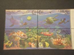 PALAU - 1995 FAUNA MARINA  4 VALORI - NUOVI(++) - Palau
