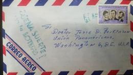 O) 1962 EL SALVADOR, PEDRO PABLO CASTILLO - DOMINGO ANTONIO DE LARA - SANTIAGO JOSE CELIS.SCOTT A185, BUENA SUERTE EN LA - El Salvador