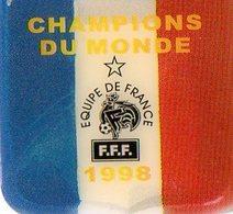 Ecusson Coupe Du Monde 1998 - Soccer