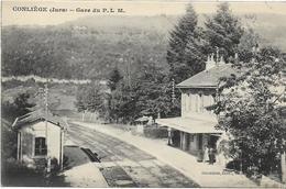 39 CONLIEGE . La Gare Du PLM ,  , édit : Chambion, Années 10 ,  état Extra - Altri Comuni