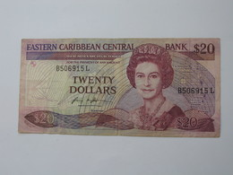 20 Twenty Dollars 1987-1988 Eastern Caribbean Central Bank **** EN ACHAT IMMEDIAT **** - Caraïbes Orientales