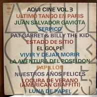 LP Argentino De Artistas Varios Aquí Cine Volumen 3 Año 1974 - Soundtracks, Film Music