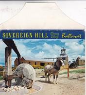 SOUVERING HILL. MINING VILLAGE. 10 VIEWS SIZE 16x12CM. CIRCA 1970's. PHOTOSET SOUVENIR LAMBRANÇA GRUSS AUS- BLEUP - Ballarat