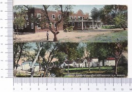 Hotel Hidalgo ~ Tijuana Hot Springs ~ B. C. Mexico ~ 1915 ~ Published By I. L. Eno ~ Photochrom - Messico
