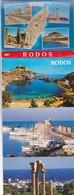 RODOS. TOUBI'S. 22 VIEWS SIZE 11x8CM. CIRCA 1970's. PHOTOSET SOUVENIR LAMBRANÇA GRUSS AUS- BLEUP - Griekenland