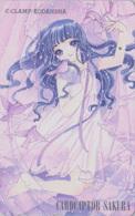 Télécarte Japon / 110-016 - MANGA - CLAMP - CARDCAPTOR SAKURA ** ONE PUNCH ** -  Japan Phonecard - Lapin Rabbit  - 10415 - Comics