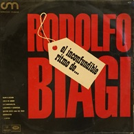 LP Argentino De Rodolfo Biagi Y Su Orquesta Típica Año 1967 - World Music