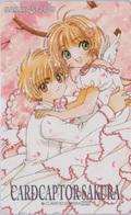 Télécarte Japon / 110-016 - MANGA - CLAMP - CARDCAPTOR SAKURA ** ONE PUNCH ** -  Japan Phonecard - Lapin Rabbit  - 10417 - BD