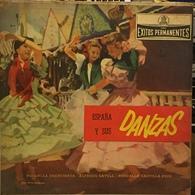 LP Argentino De Artistas Varios España Y Sus Danzas Año 1962 - World Music