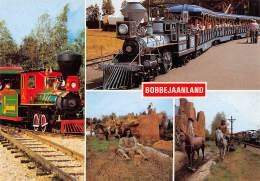 CPM - BOBBEJAANLAND - Texas Trains - Indian - Garden - Kasterlee