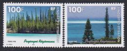 New Caledonia SG 1156-57  1998 Regional Landscapes MNH - New Caledonia