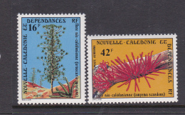 New Caledonia SG 596-97 1978 Flora MNH - New Caledonia