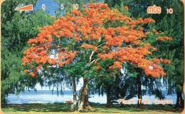 Northern Mariana Islands - NMI-MT-08, Mtc, Flame Tree, 25U, 1993, Used - Northern Mariana Islands