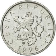 Monnaie, République Tchèque, 10 Haleru, 1996, TTB, Aluminium, KM:6 - Tchéquie