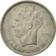 Monnaie, Belgique, 5 Francs, 5 Frank, 1936, TB+, Nickel, KM:109.1 - 1934-1945: Leopold III