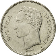 Monnaie, Venezuela, 5 Bolivares, 1989, Werdohl, TTB, Nickel Clad Steel, KM:53a.1 - Venezuela