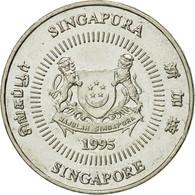 Monnaie, Singapour, 50 Cents, 1995, Singapore Mint, TTB, Copper-nickel, KM:102 - Singapour
