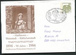 Bund PU117 C2/019 KÄTHCHEN HEILBRONN Sost. WEIN Heilbronn 1984 - Wein & Alkohol