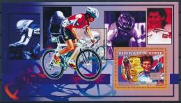 D- [401887] **/Mnh-Guinée 2006 - Médaille D'or De Cyclisme Sur Route, Vélos, Jeannie Longo - Cyclisme