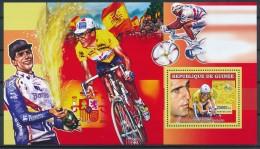 D- [401890] **/Mnh-Guinée 2006 - 5 Fois Vainqueur Du Tour De France, Miguel Indurain - Cyclisme