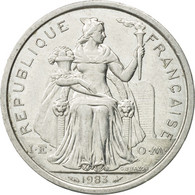 Monnaie, French Polynesia, 2 Francs, 1983, Paris, TTB, Aluminium, KM:10 - French Polynesia