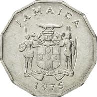 Monnaie, Jamaica, Elizabeth II, Cent, 1975, British Royal Mint, TB+, Aluminium - Jamaique