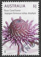 Australia 2015 Wild Flowers $1 Type 1 Sheet Stamp Good/fine Used [38/31169/ND] - 2010-... Elizabeth II