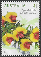 Australia 2015 Wild Flowers $1 Type 2 Sheet Stamp Good/fine Used [38/31170/ND] - 2010-... Elizabeth II