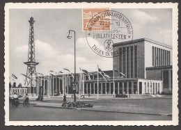 1954  Austellungshallen Am Funkturm  MiNr 112  Ersttag Sonderstempel - [5] Berlijn