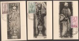 1955  25 Jahre Bistum Berlin MiNr 132-4 - Esrttag Sonderstempel - [5] Berlin