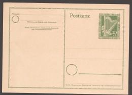 1951  Sonderpostkarte  Berliner Philharmonie  MiNr P23 I  ** - Postkarten - Ungebraucht