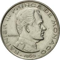 Monnaie, Monaco, Rainier III, Franc, 1960, TTB, Nickel, KM:140 - Monaco
