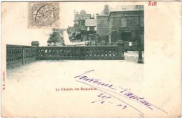 41lz 316 CPA - AULT - LE CHEMIN DES DOUANIERS - Ault