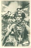 CAROLINES -un Sorcier Paré De Ses Fétiches - - Kiribati
