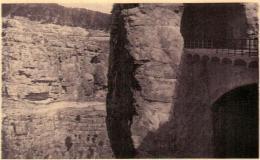 41lst 1O30 CPA - CONSTANTINE - PASSERELLE SUR LA ROUTE DE LA CORNICHE - Constantine