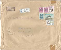 United Arab Emirates -  AbuDhabi Registered Mail Cover Sent To SAUDI- Riyadh City - Abu Dhabi