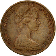 Monnaie, Australie, Elizabeth II, Cent, 1983, Melbourne, TTB, Bronze, KM:62 - Victoria