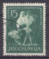Yugoslavia Republic 1953 Mi#733 Used - Gebruikt