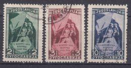 Yugoslavia Republic 1948 Mi#542-544 Used - 1945-1992 Socialistische Federale Republiek Joegoslavië