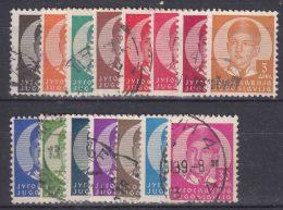 Yugoslavia Kingdom 1935 Mi#300-314 Used - 1931-1941 Königreich Jugoslawien