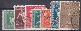 Bulgaria 1931 Sport Balkan Games Mi#242-248 Complete Set, Used - 1909-45 Reino