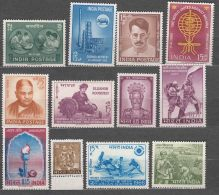 India 1960,1962,1963,1964,1965,1966 And 1967 Never Hinged Stamps - Inde