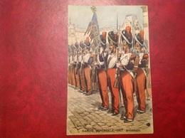 Illustrateur Toussaint Garde Impériale 1857 Grenadiers - Autres Illustrateurs