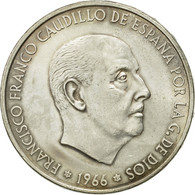 Monnaie, Espagne, Caudillo And Regent, 100 Pesetas, 1967, Madrid, TTB, Argent - [ 5] 1949-… : Royaume