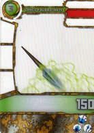 Carte Plastique Redakai Hologramme Lance Foudroyante - Trading Cards
