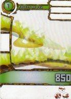 Carte Plastique Redakai Hologramme Fouets De Feu - Trading Cards