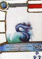 Carte Plastique Redakai Hologramme Attaque De Monstre Marin - Trading Cards